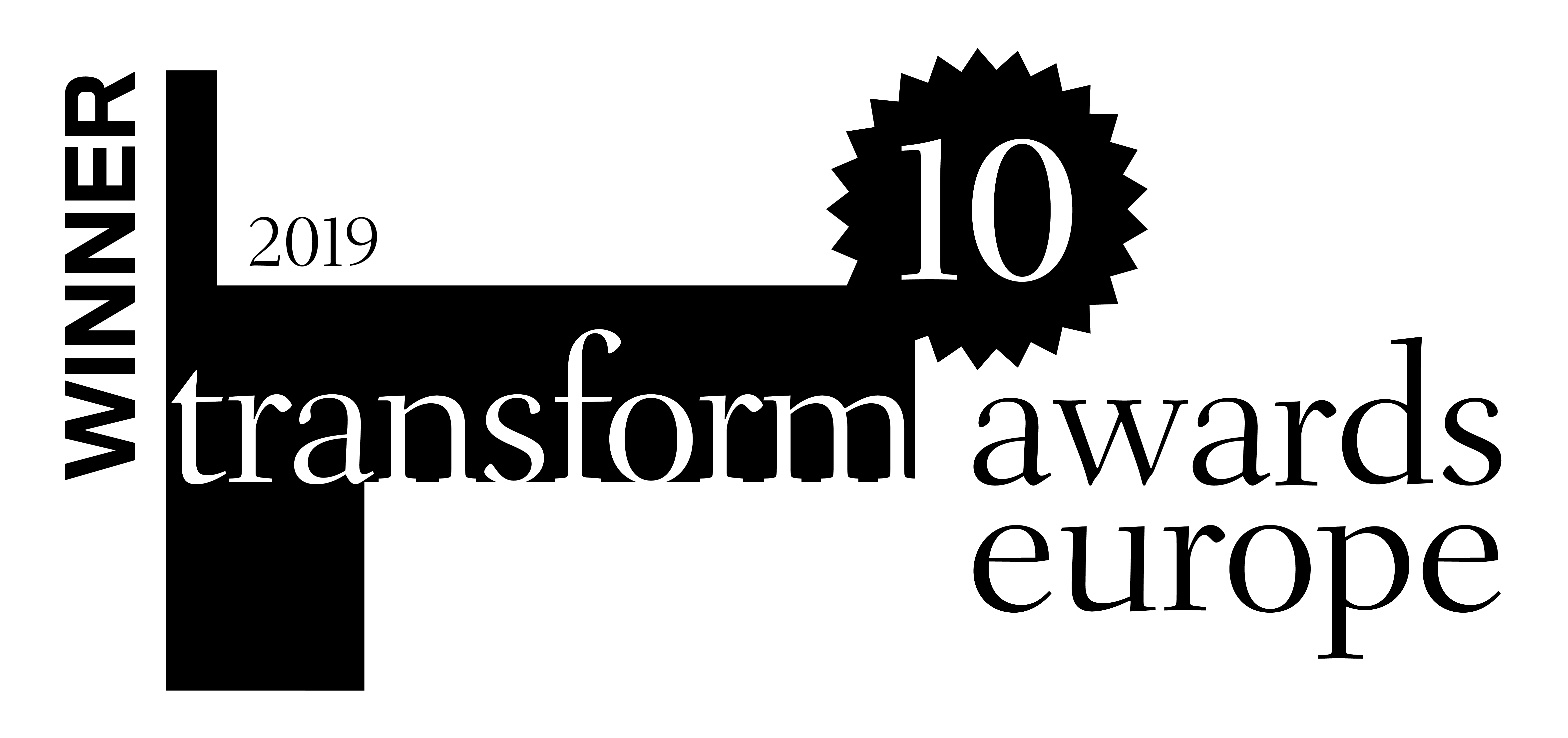 Transform 20Awards 20Europe 20Winner 202019